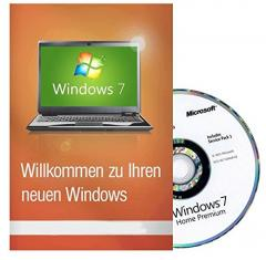 Microsoft Windows 7 Home Premium 32 Bit MAR Version Hologramm DVD und COA